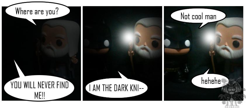 Batman and Gandalf