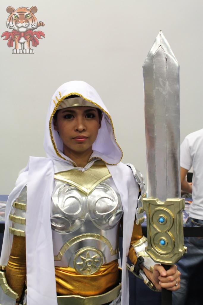 A Filipina cosplaying Elspeth TIrel