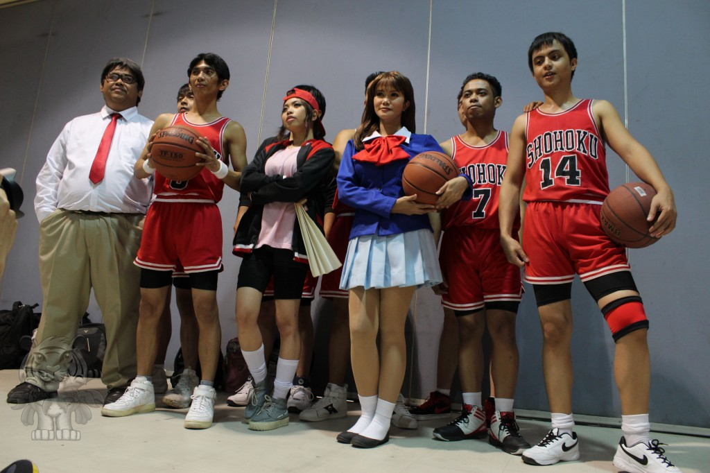 The cast of Slam Dunk