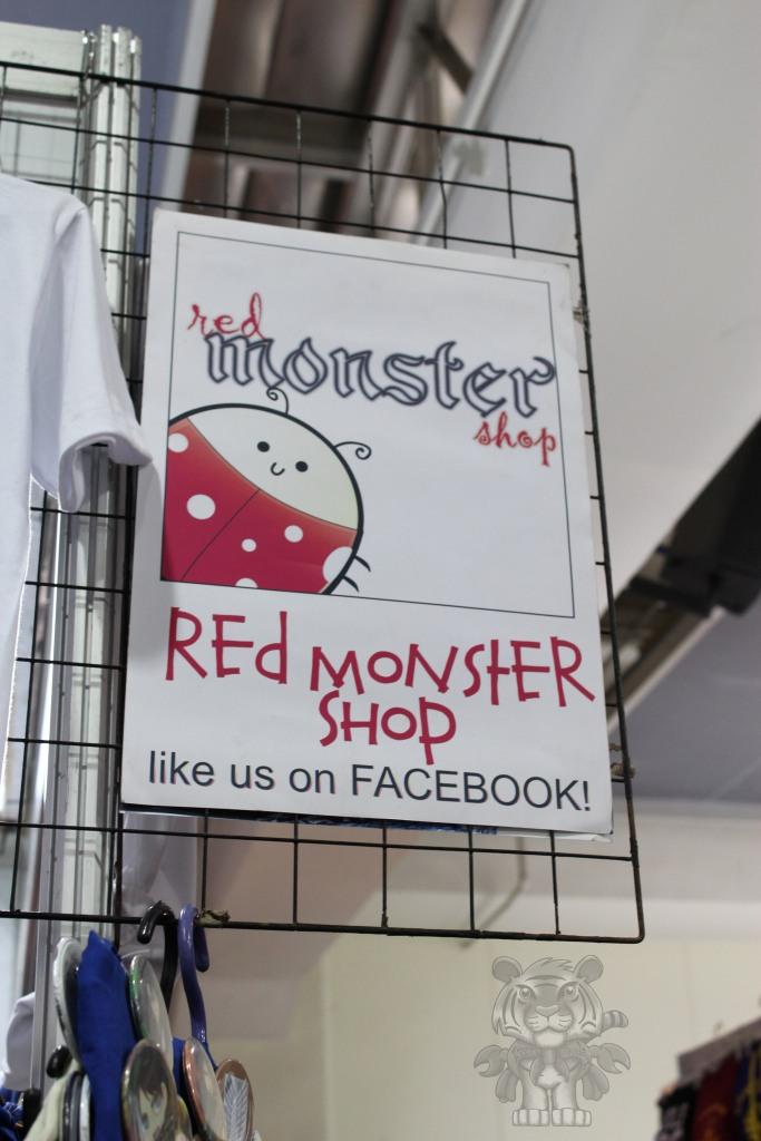 Red Monster shop