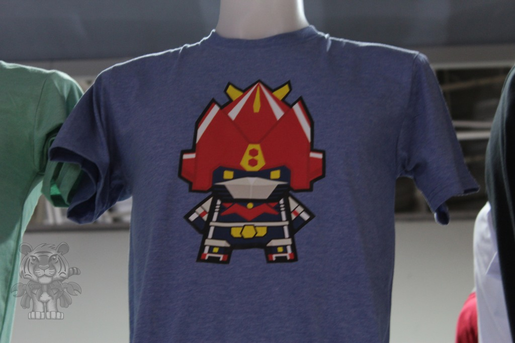 A chibi Voltron T-shirt