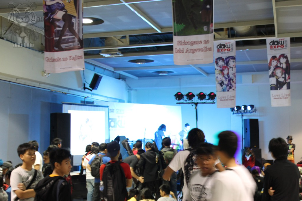 They are also rock bands playing anime theme songs for people to enjoy.
