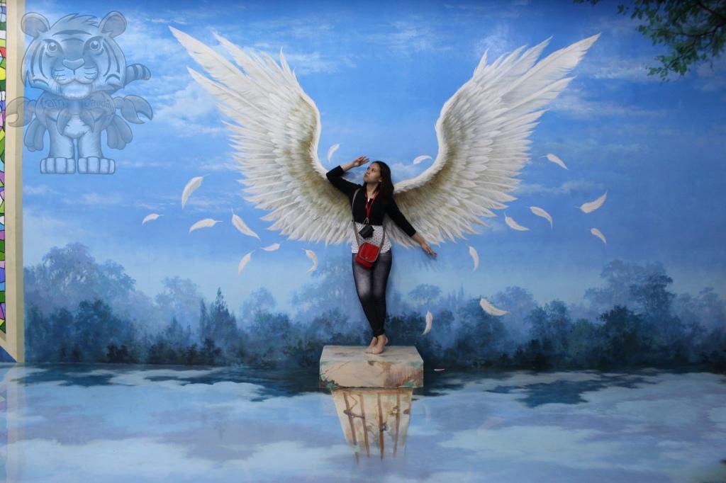 Be an angel.