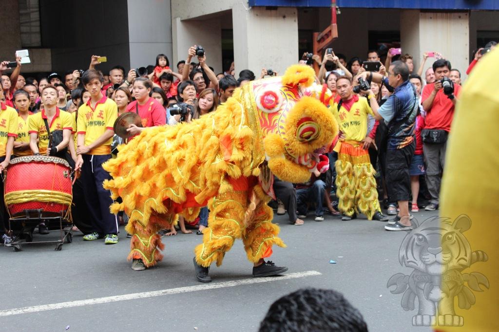 Lion dance?