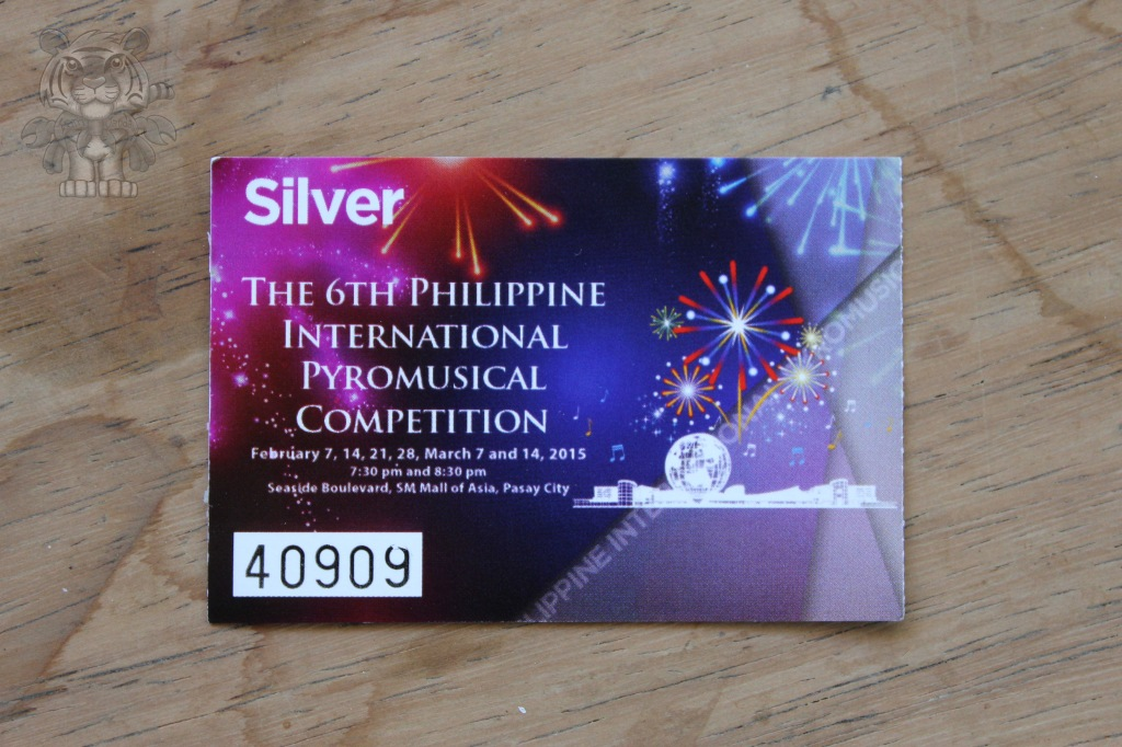 There are kinds of tickets depending on their prices and their privileges. Mine is the named silver. The cheapest of all the tickets. hehe