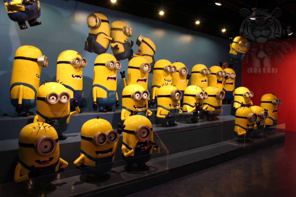 Minions will be first to welcome the visitors.