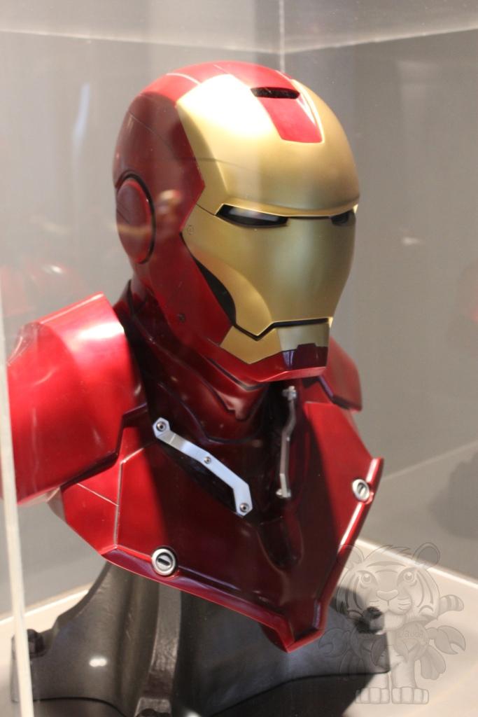 Ironman bust.