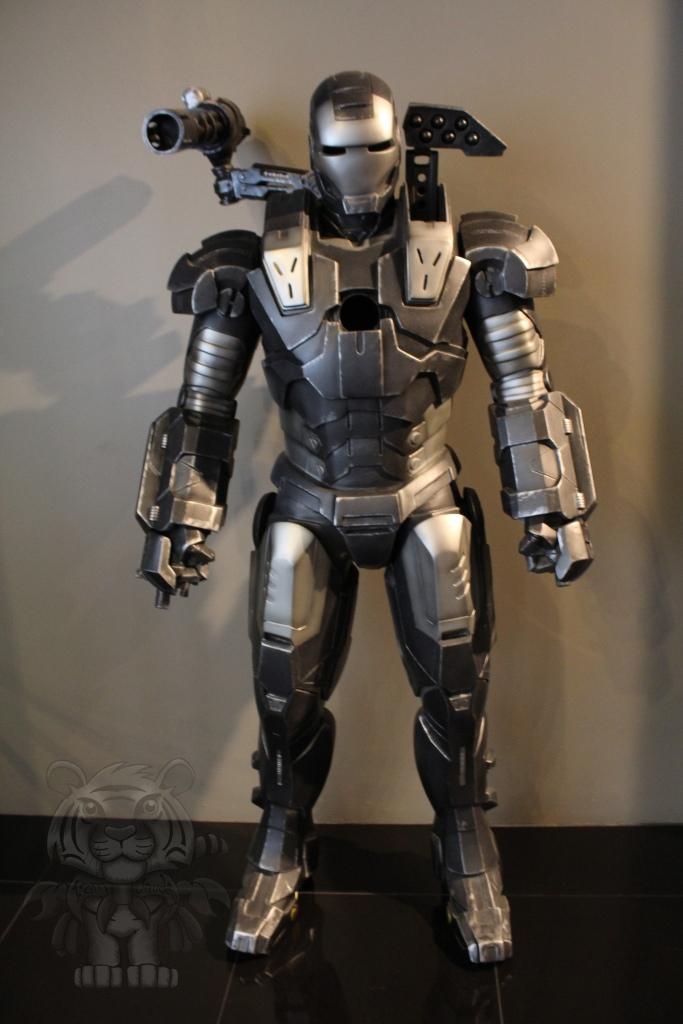 The War Machine Suit.