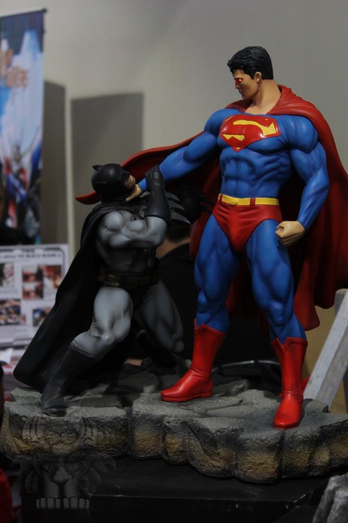 Superman and Batman.