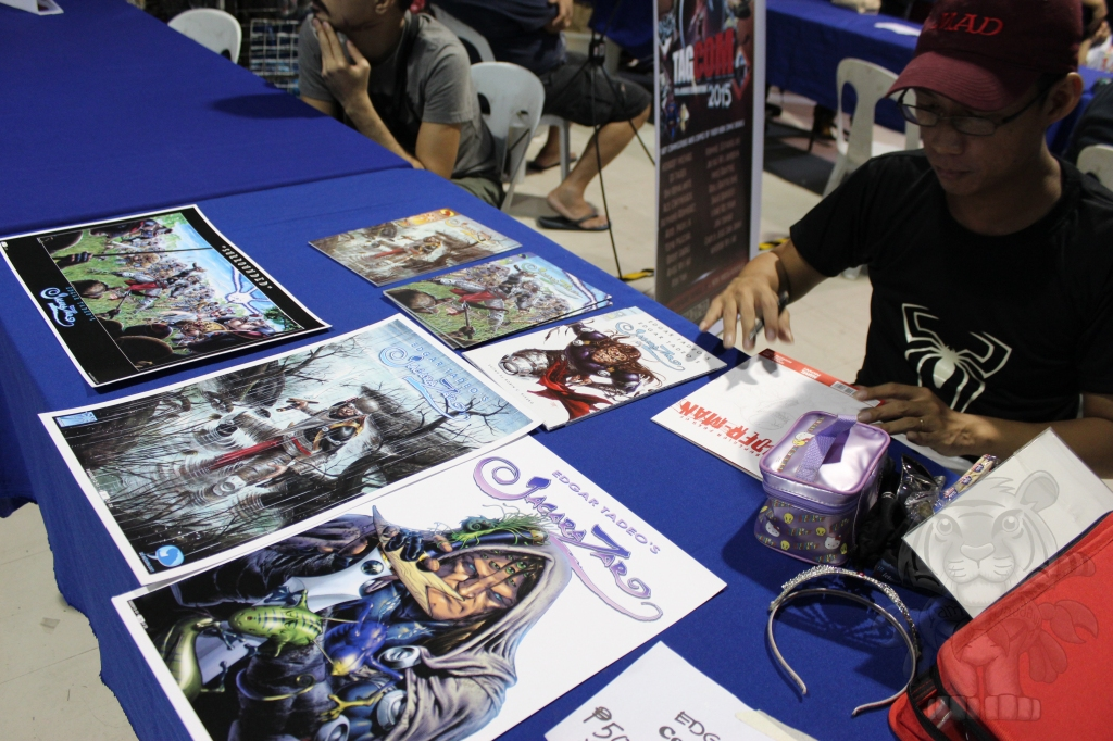 Edgar Tadeo and his Comics.