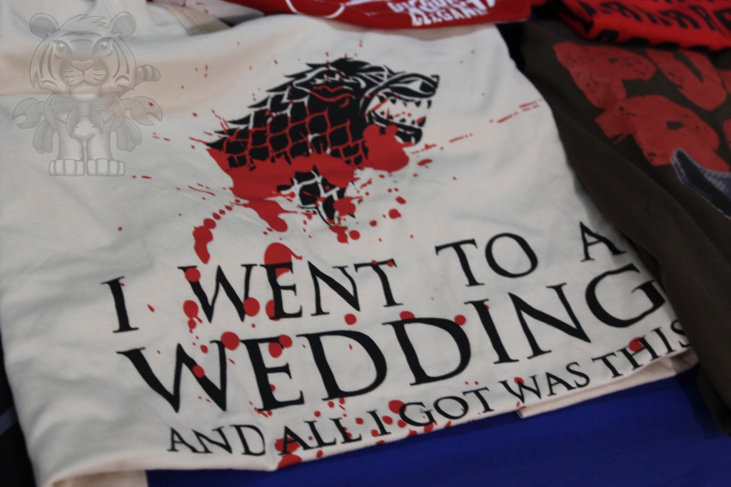 A nice Game of Thrones T-shirt.