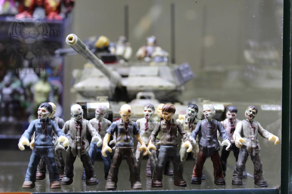 Walking Dead figures.