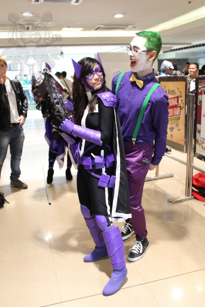 Huntress and Joker.