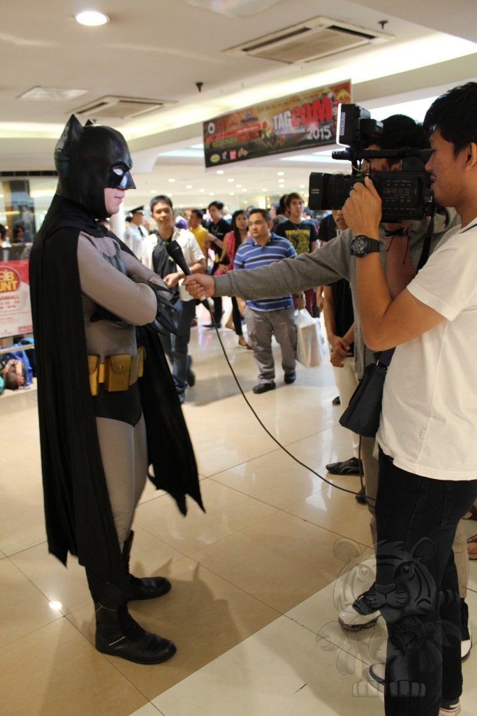 Interview with the Batman.