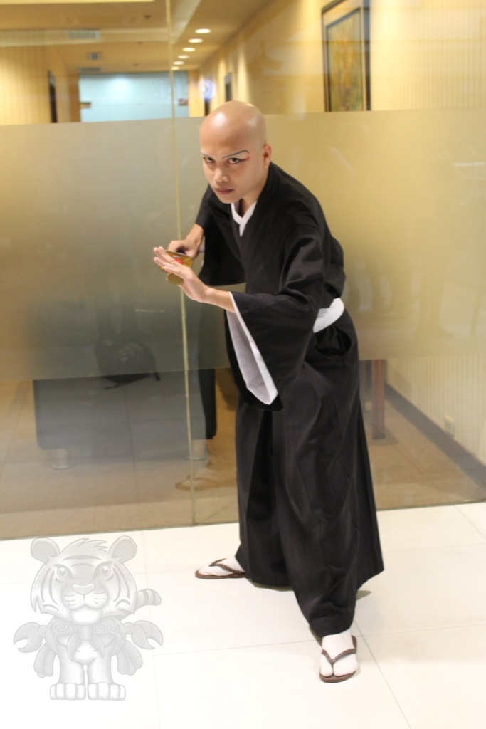 Ikkaku Madarame of Bleach.