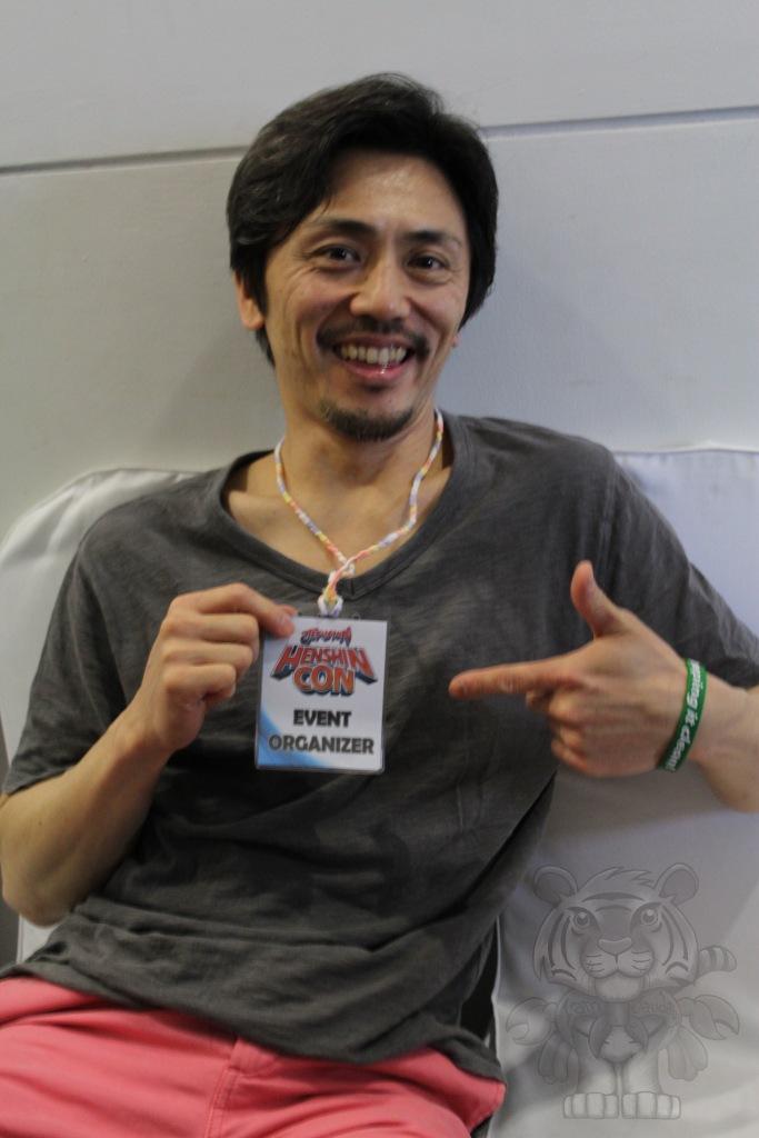 Kei Shindachiya. He played as Ken Hoshikawa or Five Blue in Chikyuu Sentai Fiveman.