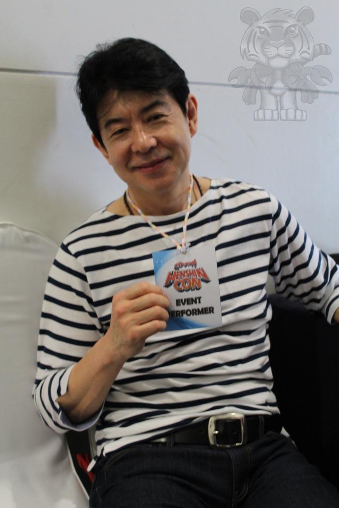 Ryousuke Kaizu. He played as Michael Joe or Red Mask in Laser Squadron Maskman.