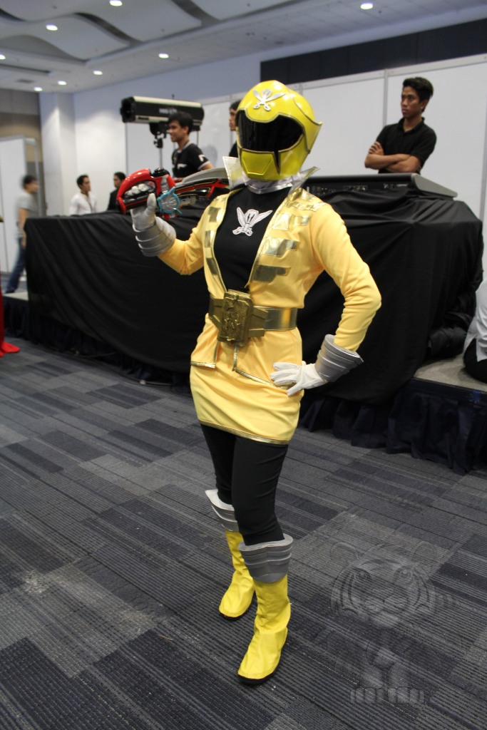 Yellow ranger of Power Rangers Super Megaforce.