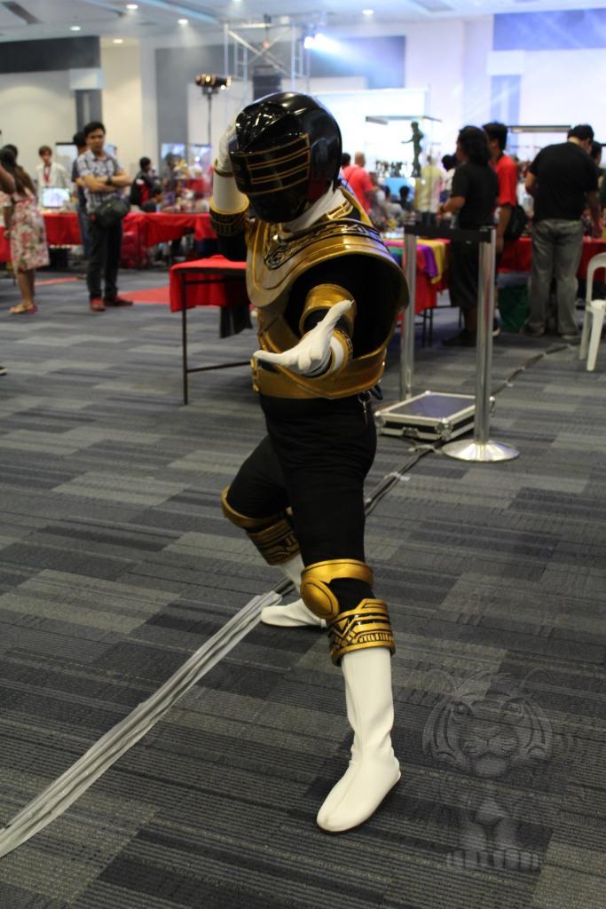 Gold ranger of Power Rangers Zeo.