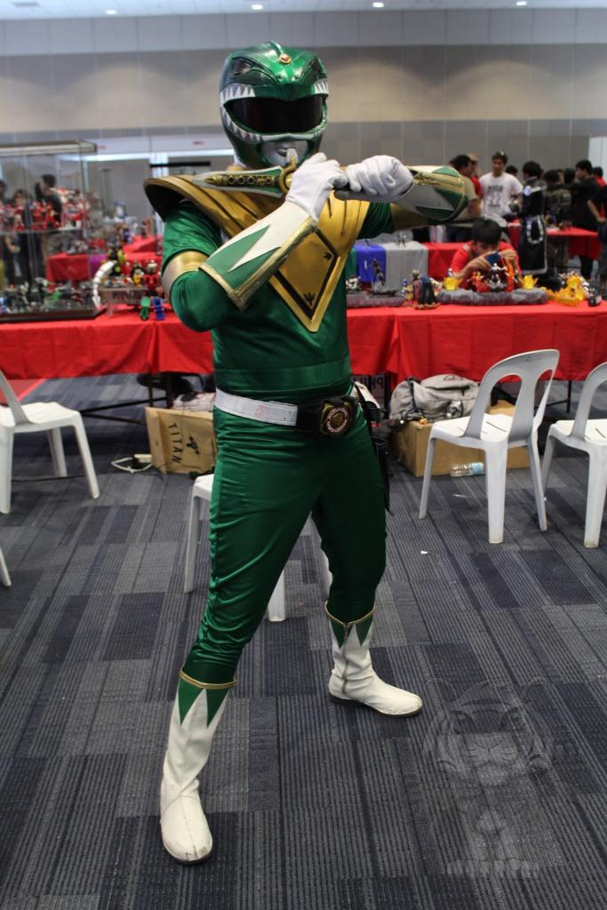 Green Ranger of Mighty Morphin Power Rangers.