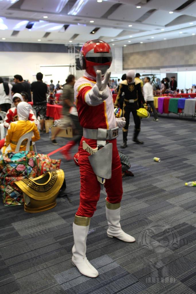 Red Ranger of Turbo Rangers.