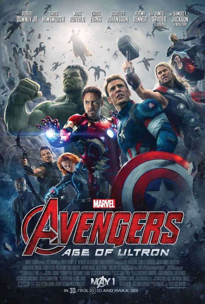 Avengers: Age of Ultron Poster. Photo grabbed from Google