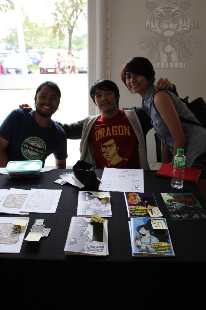 Francisco Martelino( Hotdog Prince Creator) and his friends.