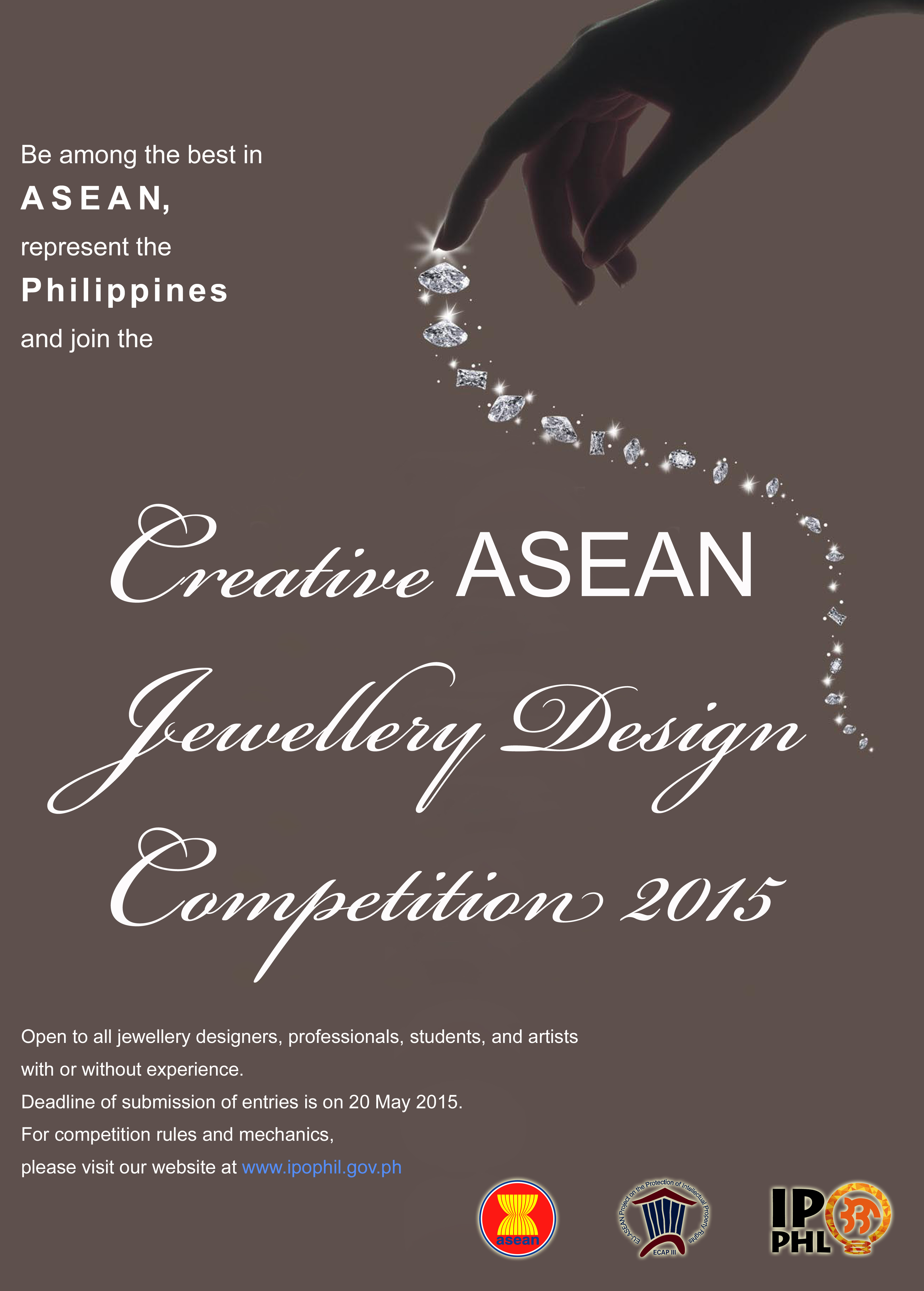Poster design competition 2015 - Creative Jewellry Asean Competition03 2015_rev03 Copy Creative Asean Jewellery Design Competition 2015