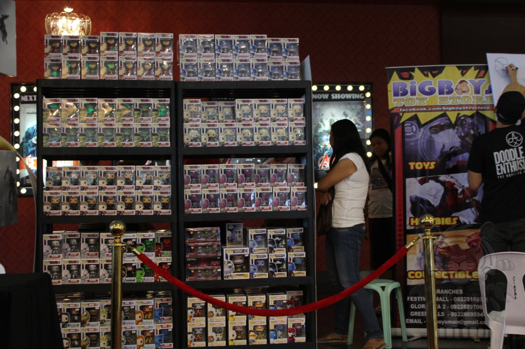 Big Boys Toy Store selling Marvel Avengers, Ultron and Thanos Funko Pops
