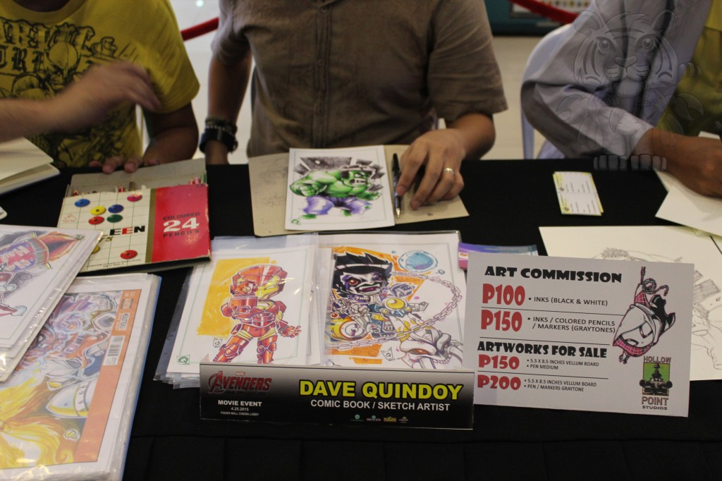 Dave Quindoy and his works