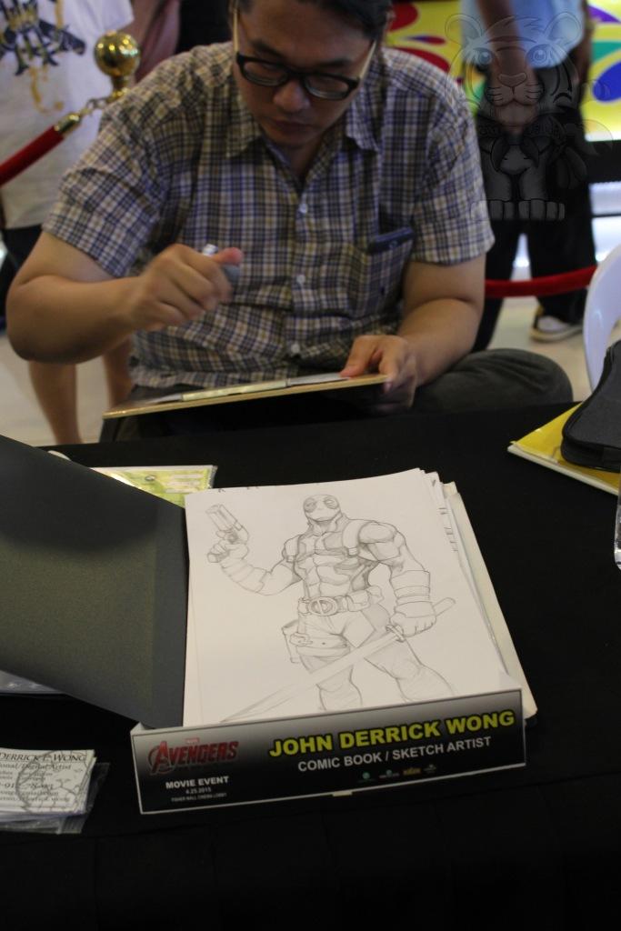 John Derrick Wong and his works.