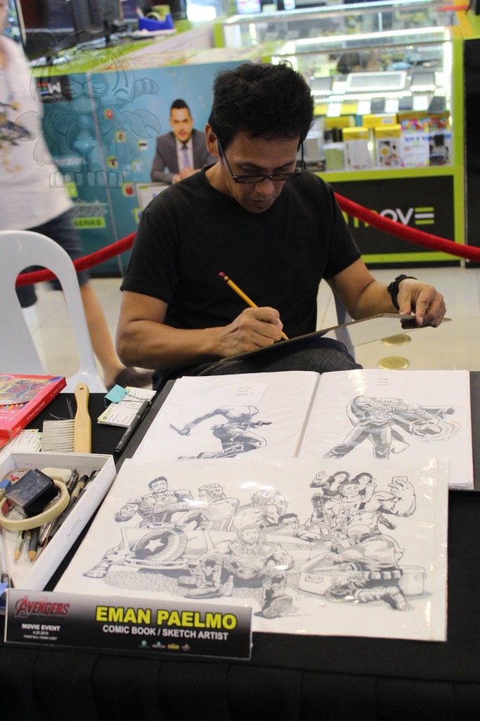 Eman Paelmo and his works.
