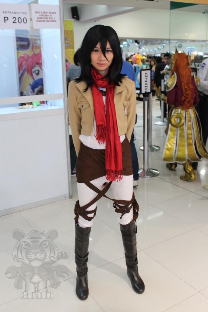 Mikasa Ackerman of Shingeki no Kyojin (Attack on Titan)
