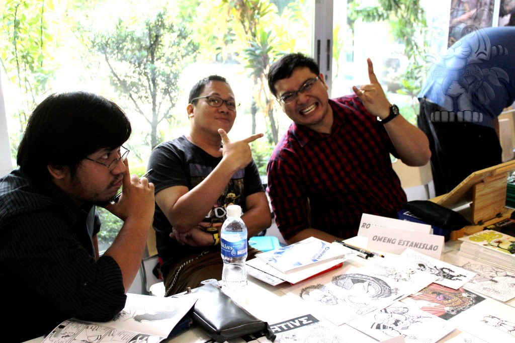 Great poses by artists Julius Villanueva, Omeng Estanislao, and Carlo San Juan
