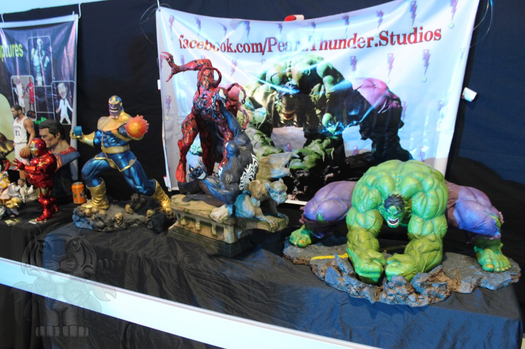 Thanos, Carnage, Venom and Hulk