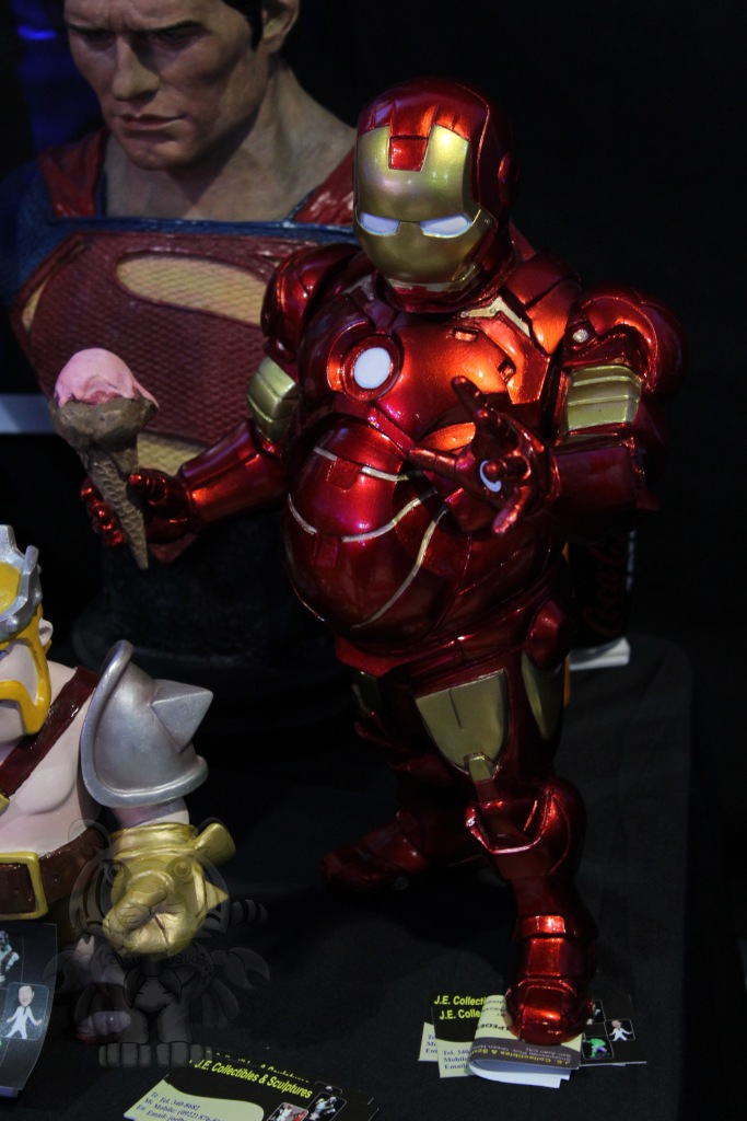 A fat Ironman.