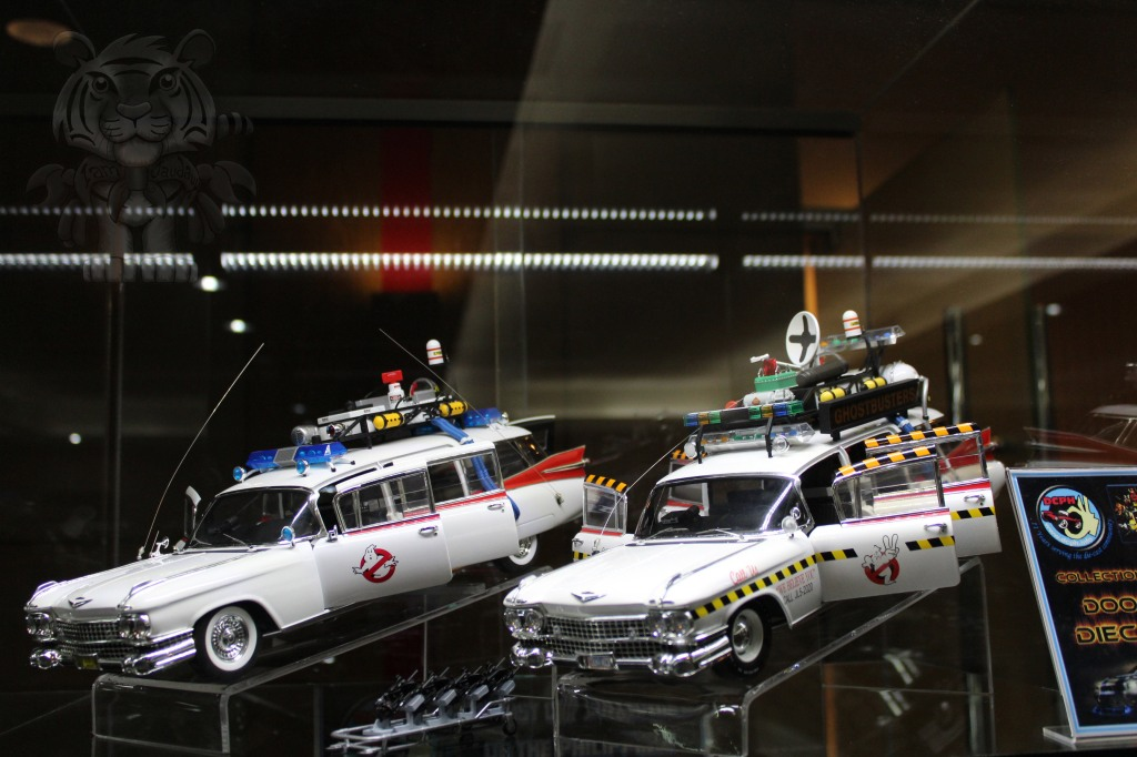 Ghost busters' Ecto-1s