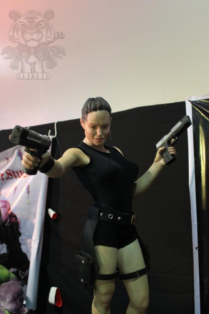 Lara Croft.