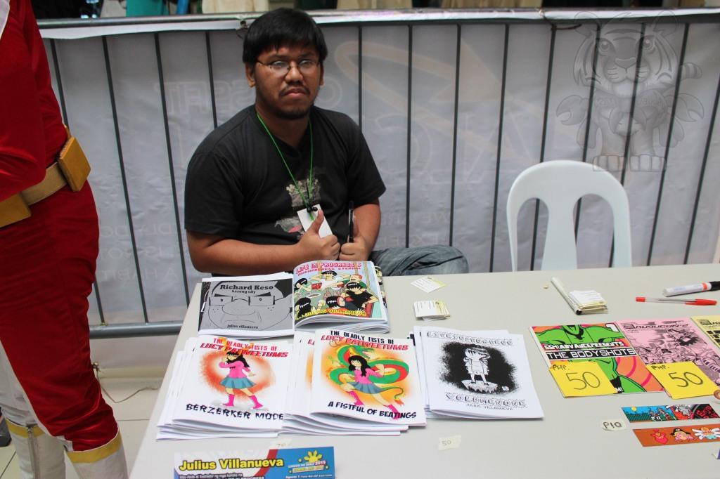 Julius Villanueva and his works.