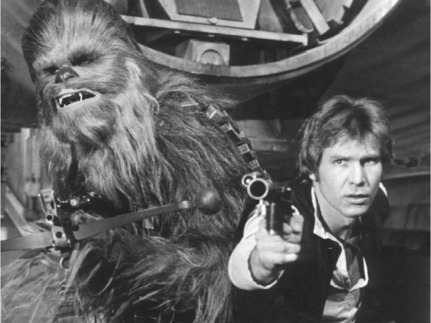 good-guys-chewbacca-and-han-solo-harrison-ford-prepare-to