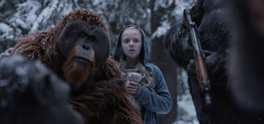 WAR FOR THE PLANET OF THE APES-Maurice and Nova